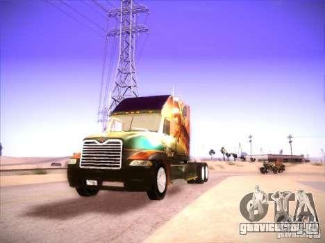 Mack Vision для GTA San Andreas