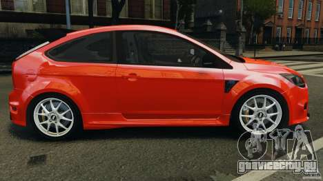 Ford Focus RS для GTA 4 вид слева