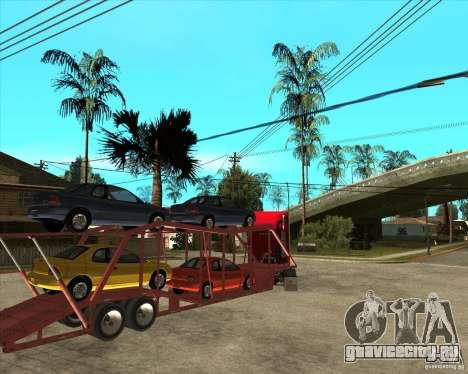 Полуприцеп Автовоз для GTA San Andreas