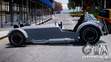 Caterham Super Seven для GTA 4 вид слева