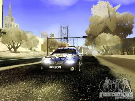 ENBSeries by Maksss@ для GTA San Andreas третий скриншот