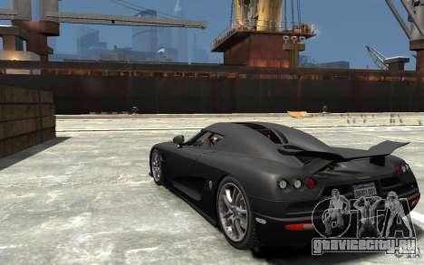 Koenigsegg CCXR Edition V1.0 для GTA 4