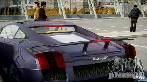 Lamborghini Gallardo Superleggera для GTA 4 колёса