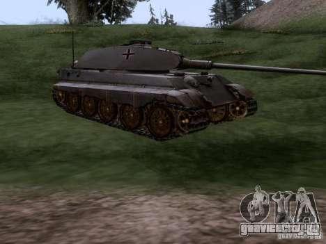 Pz VII Tiger II VIB Королевский Тигр для GTA San Andreas вид справа
