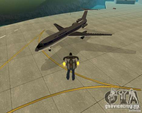 Пак воздушного транспорта для GTA San Andreas вид слева