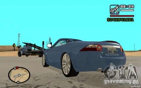 Jaguar XK Convertable для GTA San Andreas вид слева