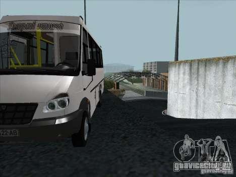 ГолАЗ 3207 для GTA San Andreas вид сбоку