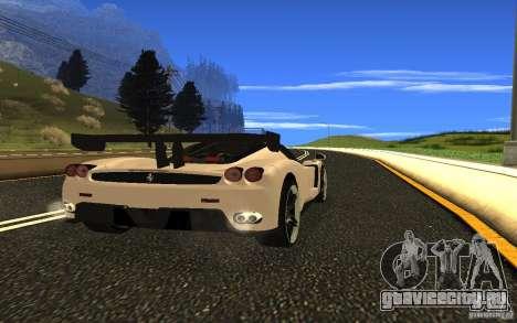 Ferrari Enzo ImVehFt для GTA San Andreas вид справа