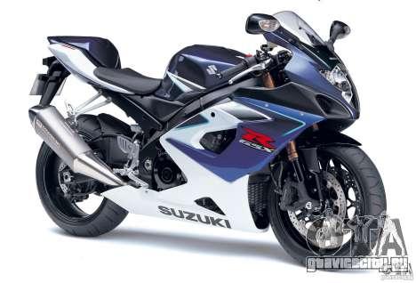 Suzuki GSX-R 1000 для GTA Vice City вид справа