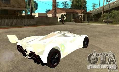 Mazda Furai для GTA San Andreas вид справа