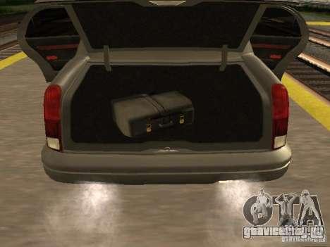 HD Stretch для GTA San Andreas вид сзади