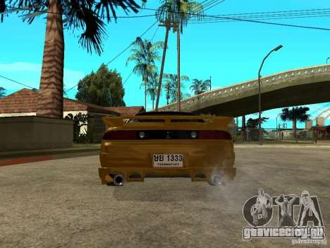Mitsubishi 3000GT для GTA San Andreas вид сзади слева