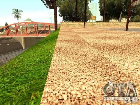 Новая баскетбольная площадка в Лос Сантосе для GTA San Andreas второй скриншот