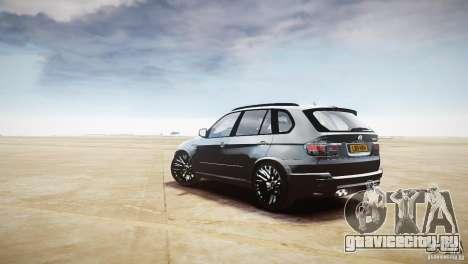 BMW X5M 2011 для GTA 4 вид справа