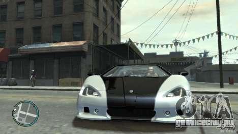 Shelby Super Cars Ultimate Aero для GTA 4 вид сзади слева