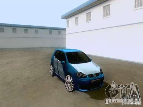 Volkswagen Golf V GTI для GTA San Andreas вид справа