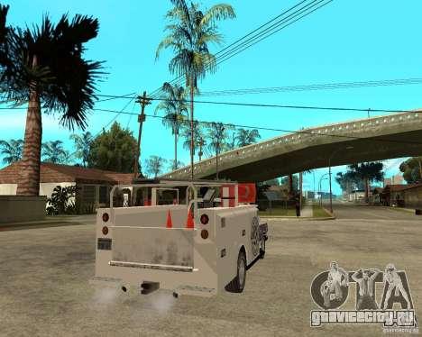 Ford F150 1992 Utility Van для GTA San Andreas вид сзади слева
