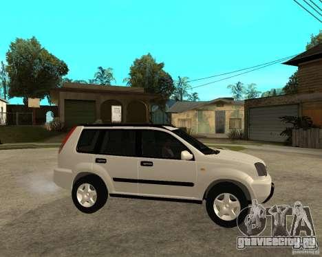 NISSAN X-TRAIL 2001 для GTA San Andreas вид справа