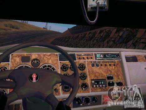 Kenworth W900 для GTA San Andreas вид сзади