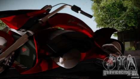 Predator Superbike для GTA San Andreas вид сзади слева