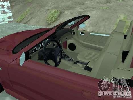 Spyder Cambriocorsa для GTA San Andreas вид слева