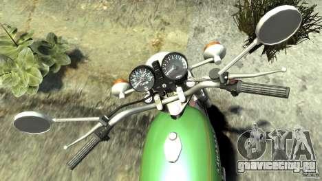 Kawasaki Z1000A1 для GTA 4 вид сзади