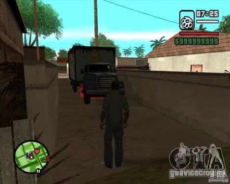 CJ - Грузчик для GTA San Andreas