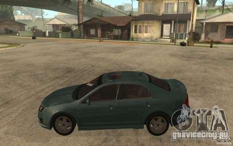 Ford Fusion 2010 для GTA San Andreas вид слева