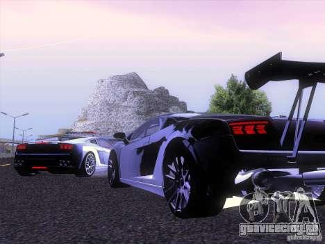 Lamborghini Gallardo Racing Street для GTA San Andreas вид справа