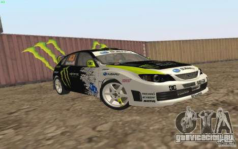 Subaru Impreza WRX Gymkhana2 Beta для GTA San Andreas