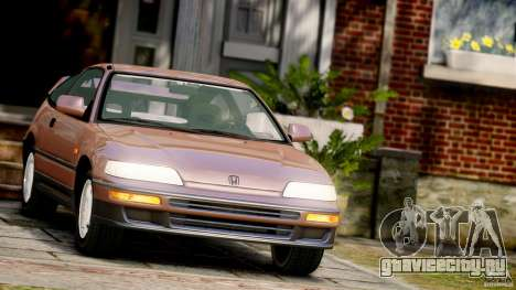 Honda CR-X SiR 1991 для GTA 4