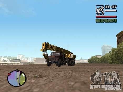 КрАЗ-250 MKAT-40 для GTA San Andreas