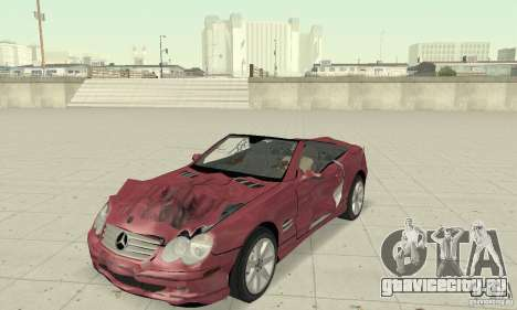 Mercedes-Benz SL500 (R230) для GTA San Andreas