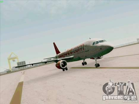 Airbus A319 Easyjet для GTA San Andreas