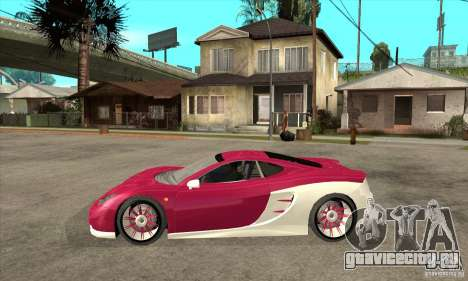 Ascari KZ-1 для GTA San Andreas вид слева