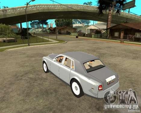 Rolls-Royce Phantom (2003) для GTA San Andreas вид слева