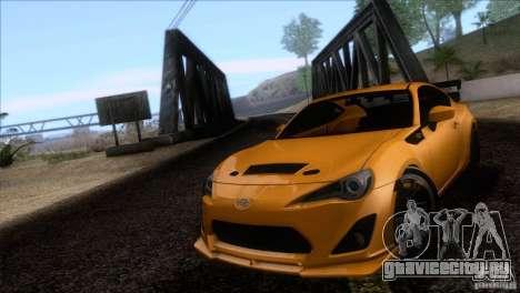 Scion FR-S 2013 для GTA San Andreas вид сзади