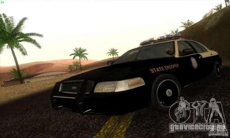 Ford Crown Victoria Florida Police для GTA San Andreas
