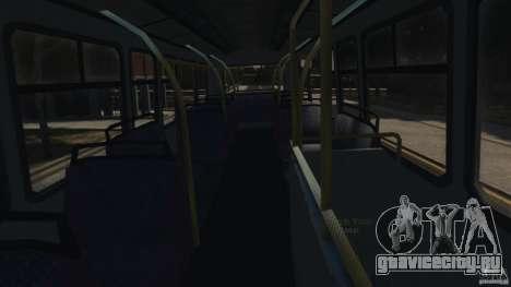 London City Bus для GTA 4 вид сверху