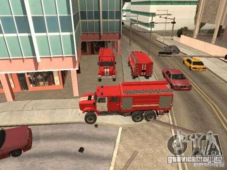 ЗИЛ Пожарный для GTA San Andreas вид слева