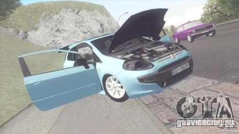 Fiat Punto для GTA San Andreas вид сзади слева