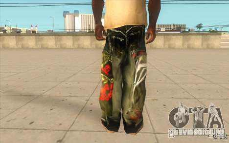 Hip-hop jeans для GTA San Andreas третий скриншот