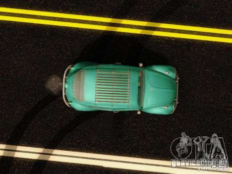 Volkswagen Beetle 1300 для GTA San Andreas вид изнутри