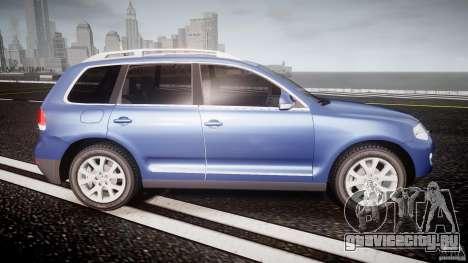 Volkswagen Touareg 2008 TDI для GTA 4 вид сбоку