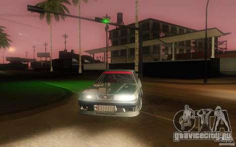 Toyota Soarer GZ20 для GTA San Andreas вид сбоку