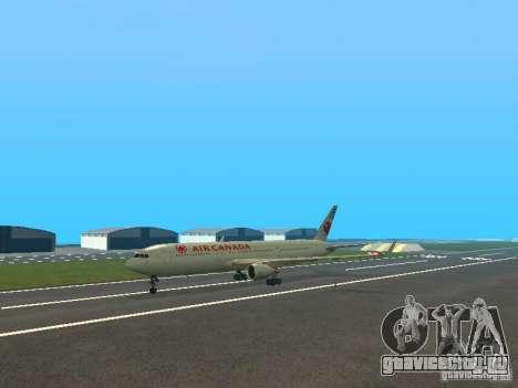 Boeing 767-300 Air Canada для GTA San Andreas