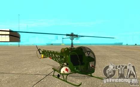 Bell H13 для GTA San Andreas вид слева