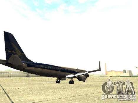 Embraer E-190 для GTA San Andreas вид справа