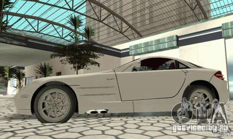 Mercedes-Benz McLaren V2.3 для GTA San Andreas вид справа