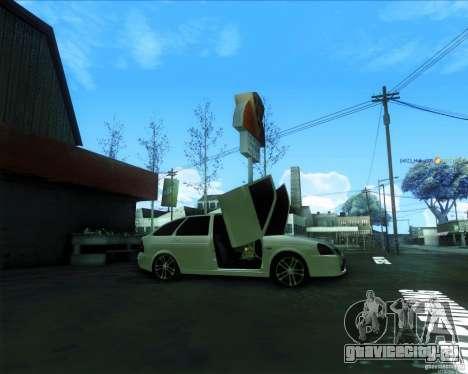 ВАЗ 2172 PRIORA для GTA San Andreas вид справа